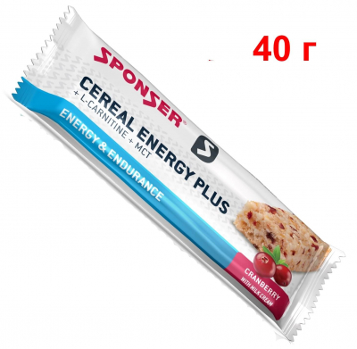SPONSER CEREAL ENERGY PLUS (40 г)
