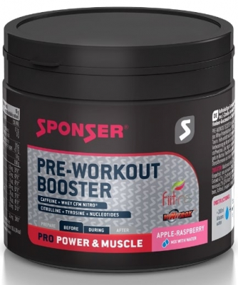 Sponser PRE-WORKOUT BOOSTER